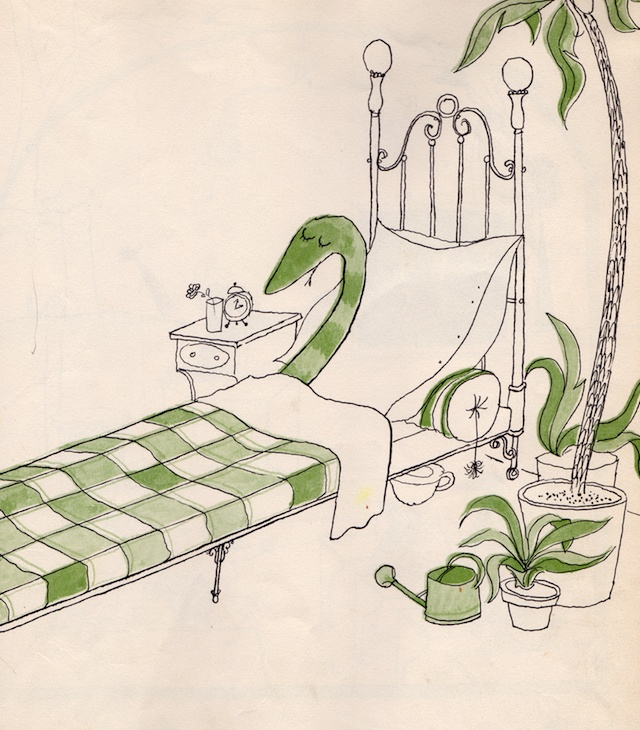 """""""קריקטור הנחש הטוב"""" מאת טומי אונגרר (עם עובד)"""